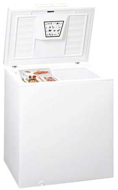 Summit Refrigeration SCFR70 Chest Refrigerator w/ Counter Balanced Hinges & Frost Free Defrost, White, 6.5-cu ft