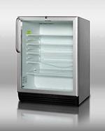 Summit Refrigeration SCR600BLCSS 23.75