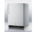 Summit Refrigeration SPR626OSCSSTB Outdoor Beverage Refrigerator w/ Auto Defrost & Reversible Door, Stainless, 4.9-cu ft