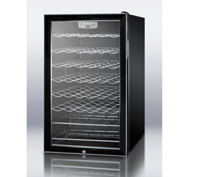 """Summit Refrigeration SWC525L 19.25"""" One Section Wine Cooler"""