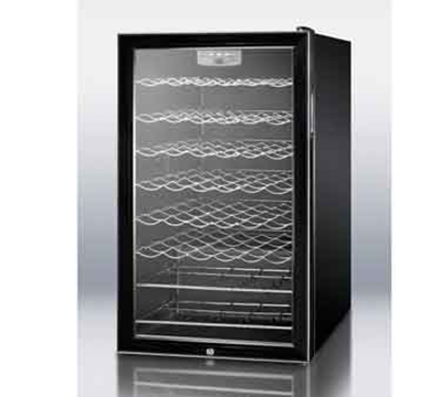 """Summit Refrigeration SWC525LBI7 19.25"""" One Section Wine Cooler w/ (1)"""