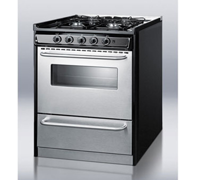 Countertop Stove Electric Igniter : ... in Range w/ Electric Ignition, Sealed Burners & Boiler Door, Black, LP