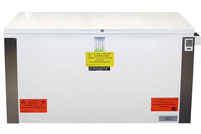 Summit Refrigeration VT175IB Laboratory Chest Freezer w/ Front Lock, Manual Defrost, White, 17.0-cu ft