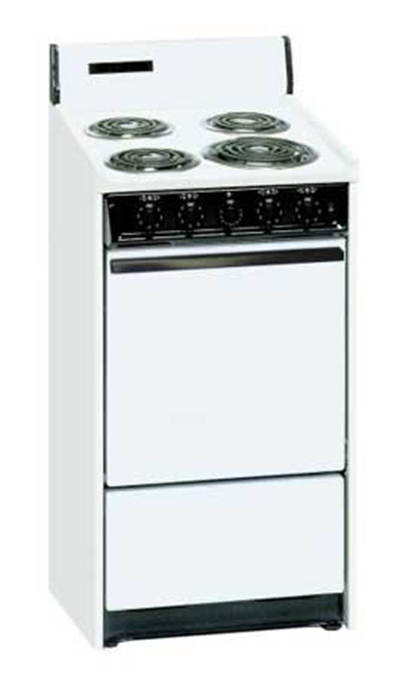 Summit Refrigeration WEM1171Q 20-in Range w/ 5-Indicator Lights, 3-Pring Line Cord & Storage Under Oven, 22
