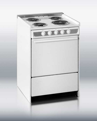 Summit Refrigeration WEM619R 24-in Range w/ Removable Top, Handle &