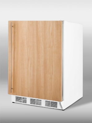 Summit Refrigeration VT65MIFADA Medical Freezer w/ Manual Defrost, Liner & 3-Drawer, White, 3.5-cu ft, ADA