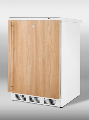 Summit Refrigeration VT65MLIF Freestanding Medical Freezer w/ Manual Defrost & 3-Basket Drawer, White, 3.5-cu ft