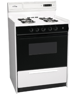 Summit Refrigeration WNM6307DFK NG 24-in Deluxe Range w/ Electro