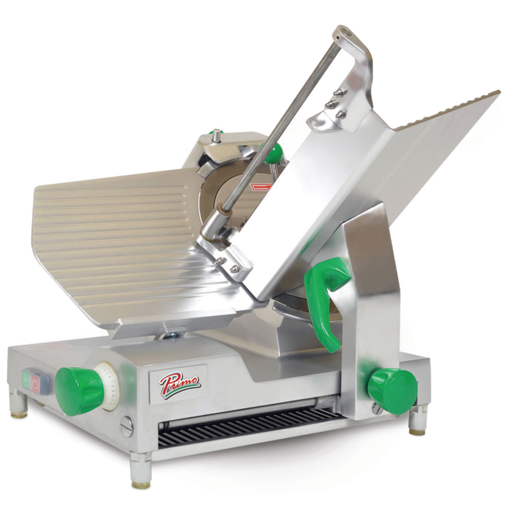 Presto PS-12D Deluxe Compact Meat Slicer w/ 12-in Blade & .5-HP Motor, 120 V