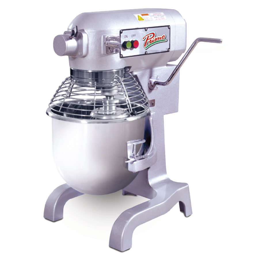 Presto PM20 20-Qt Mixer w/ 3-Speeds & 1-HP Motor, 120 V