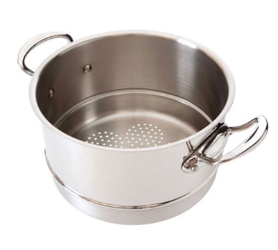 Mauviel 5221.20 8-in Round M'cook Basket Insert for Sauce Pans, Stainless