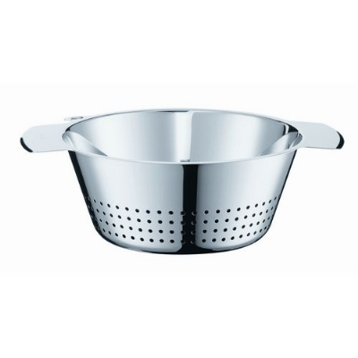 Rosle 16024 9.4-in Conical Colander, Stain