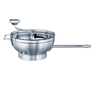 Rosle 16252 Food Mill w/ 2-Sieve Disc & Supplementary Handle, 9.4-in Round, Stainless