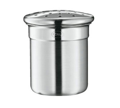 Rosle 16625 Shaker w/ 6.4-oz Capacity & Course Perforated Top, Stainless
