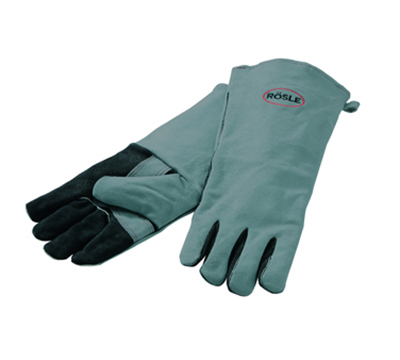 Rosle 25031 Leather Grilling Gloves