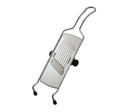 Rosle 95028 15.7-in Adjustable Grater w/ Wire Frame & Non-Slip Feet, Stainless