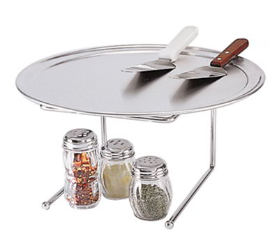 American Metalcraft 190039 Pizza Stand, 9x8-in, Chrome/Steel