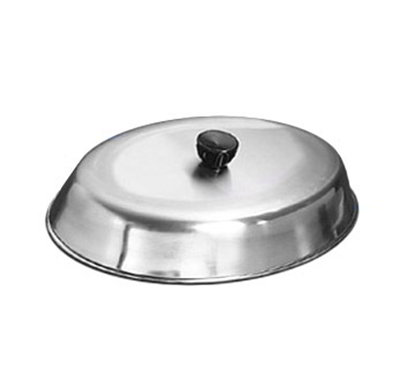 American Metalcraft BAOV972S Oval Basting Cover w/ Bakelite Knob, 11.87x8.75-in, Black, Stainless