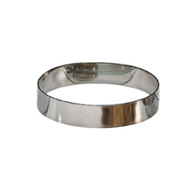 American Metalcraft HB397 4-in Hash Brown Ring, Stainless