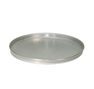 American Metalcraft T4016 16-in Solid Straight Sided Pizza Pan, Tin/Steel