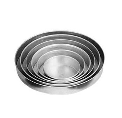 American Metalcraft T80061.5 6-in Solid Straight Sided Pizza Pan, 1.5-in De