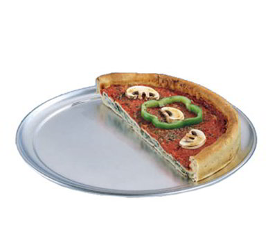 American Metalcraft TP17 17-in Wide Rim Pizza Pan, Solid, Aluminum