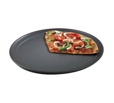 American Metalcraft HCTP14 14-in Wide Rim Pizza Pan, Hardcoat, Aluminum