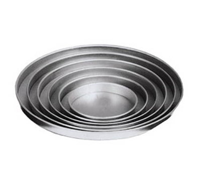 American Metalcraft A4016 16-in Straight Sided Pizza Pan, 1-in Deep, Solid, Aluminum