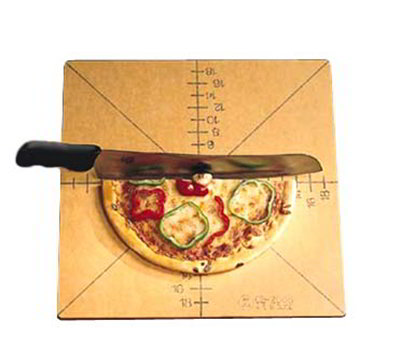 American Metalcraft MPCUT4 Pizza Slicing Board w/ Marking For