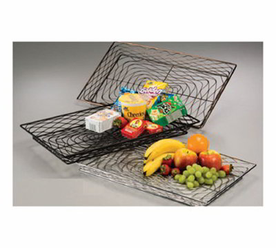 American Metalcraft BNBC20132 20-in Rectangular Wire Basket, Chrome