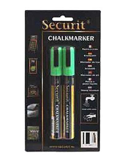 American Metalcraft BLSMA510GR Small Tip Chalk Marker, Green