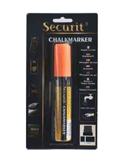 American Metalcraft BLSMA720OR Large Tip Chalk Marker, Orange