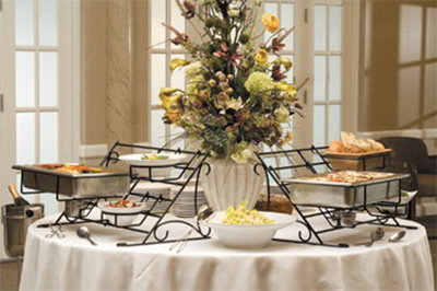 American Metalcraft BSR100 Large Rack Buffet System, Wrought Iron