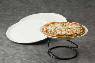 American Metalcraft CERAM18 18-in Pizza Tray, Ceram