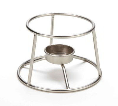 American Metalcraft CIFDR 5-in Round Mini Fondue Pot Stand,