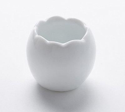 American Metalcraft EC1 1-1/2-oz Egg Cup - White Porcelain