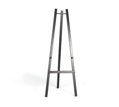 American Metalcraft EZLBL165 Easel For Wall Board, Black