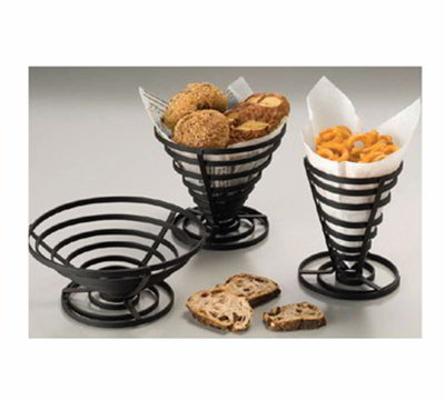 American Metalcraft FCD3 8.5-in French Fry Basket, Black