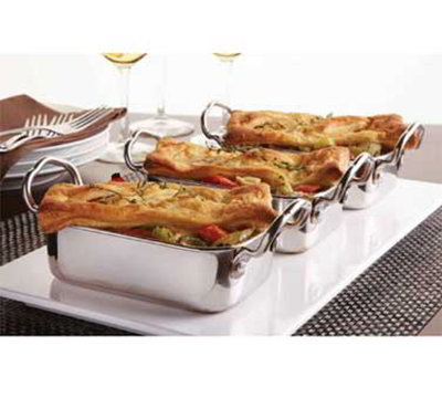 American Metalcraft MRP53 Mini Roasting Pan w/ 17-oz Capacity &a