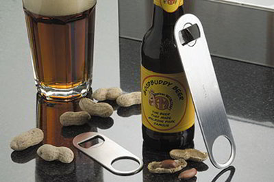 American Metalcraft SBO154 Flat Mini Bottle Opener, S