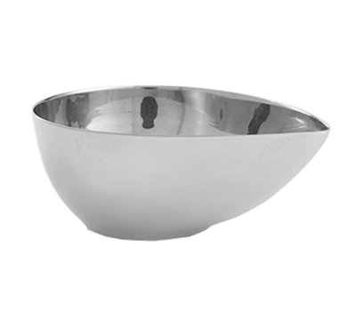 American Metalcraft SSB25 2-1/2-oz Egg-Shaped Bowl - Mirror-Finish Stainless