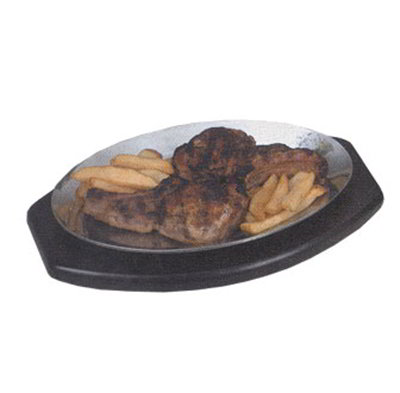 American Metalcraft PLA912 Sizzle Platter, 12.5x9-in, Mirror Finish,
