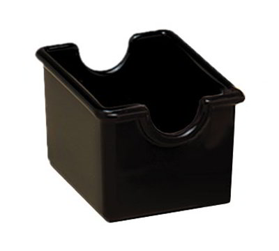 American Metalcraft SP324 Sugar Packet Holder, Black/Plastic