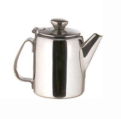 American Metalcraft SSTP65 Teapot w/ 12-oz Capacity & Hinged Lid, Mirror/Stainless