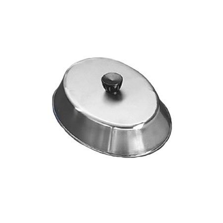 American Metalcraft BAOV795S Oval Basting Cover w/ Bakelite Knob, Black/Stainless