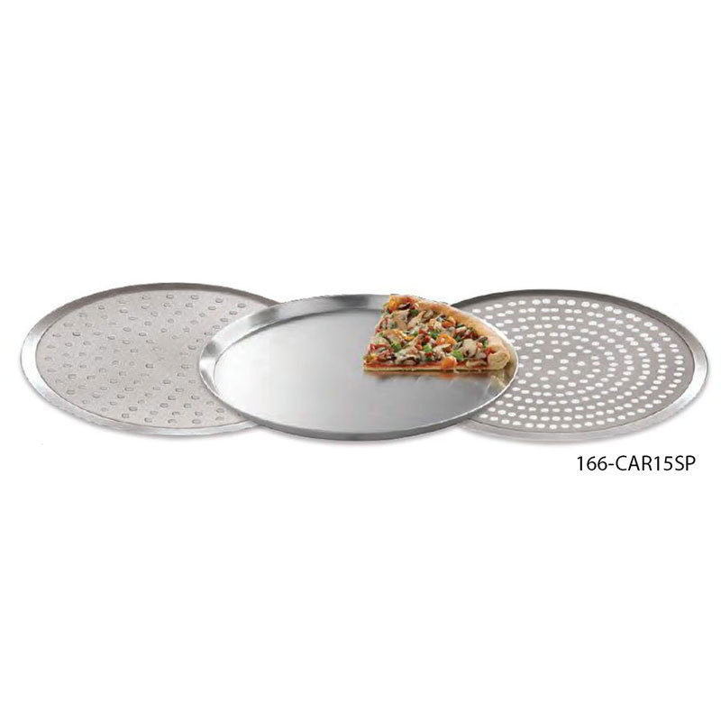 American Metalcraft CAR15SP 15-in Round Perforated Pizza Pan, Aluminum