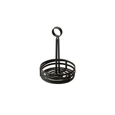 American Metalcraft FWC69 Black Coil Condiment Basket 6 in x 8-1/2 in Flat Restaurant Supply