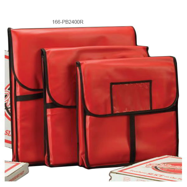 American Metalcraft PB2400 Pizza Delivery Bag, 24 in x 24 in, Holds Two 22 in Boxes,