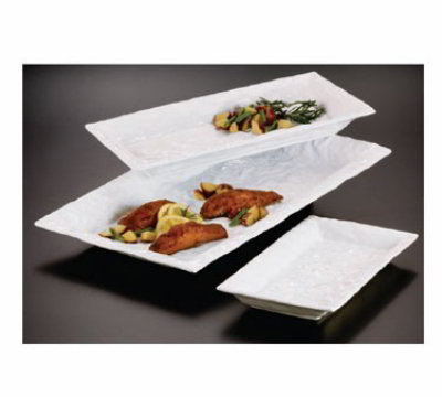 American Metalcraft POR188 Crumple Platter 18 in x 8-1/4 in Restaurant Supply