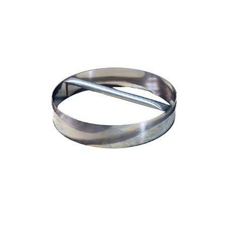 American Metalcraft RDC7 Dough Cutting Ring 7 in ID x 3 in H Stainless w/ Welded Handle Restaurant Supply